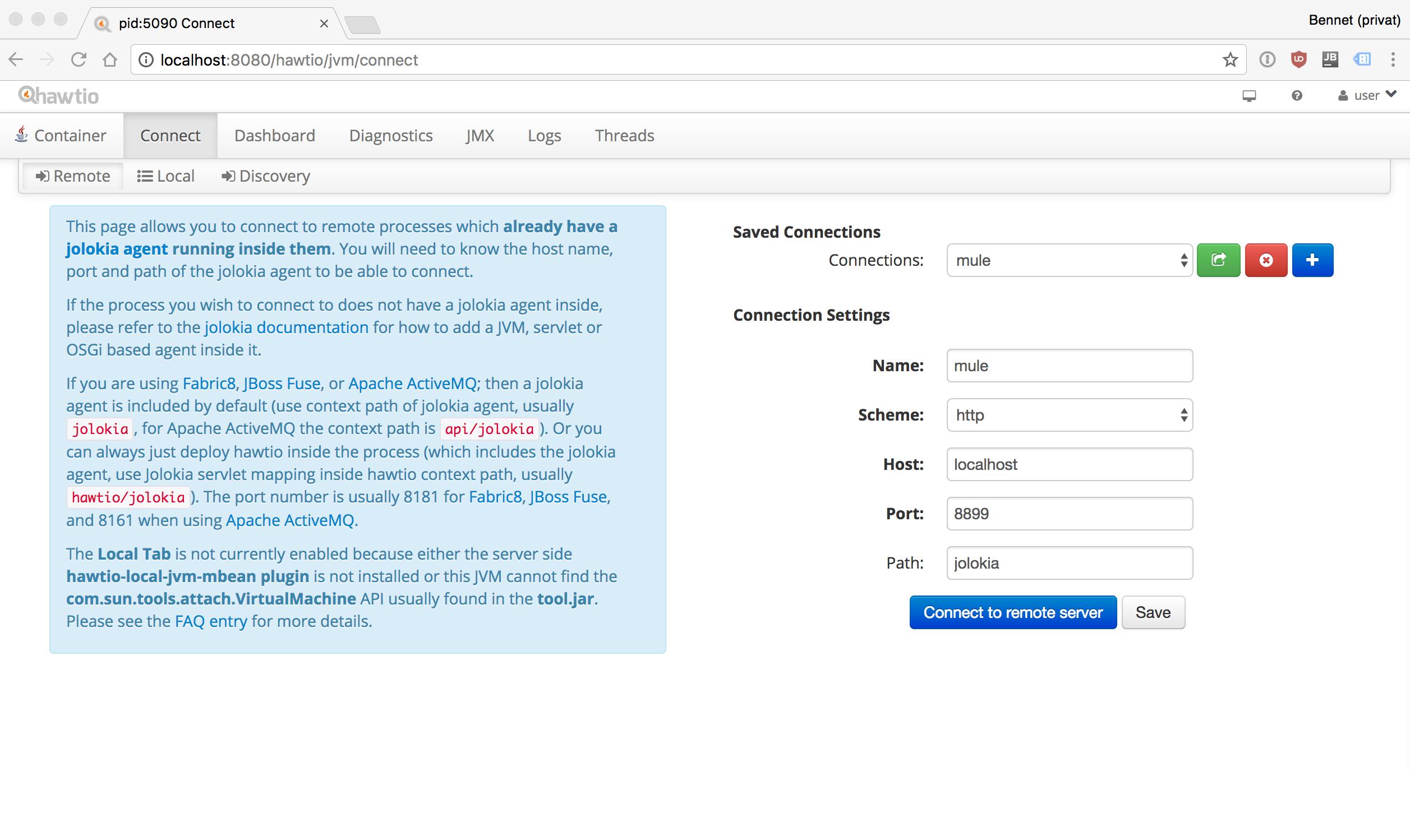 Monitoring Mule using hawtio and Jolokia - Enterprise Java Blog