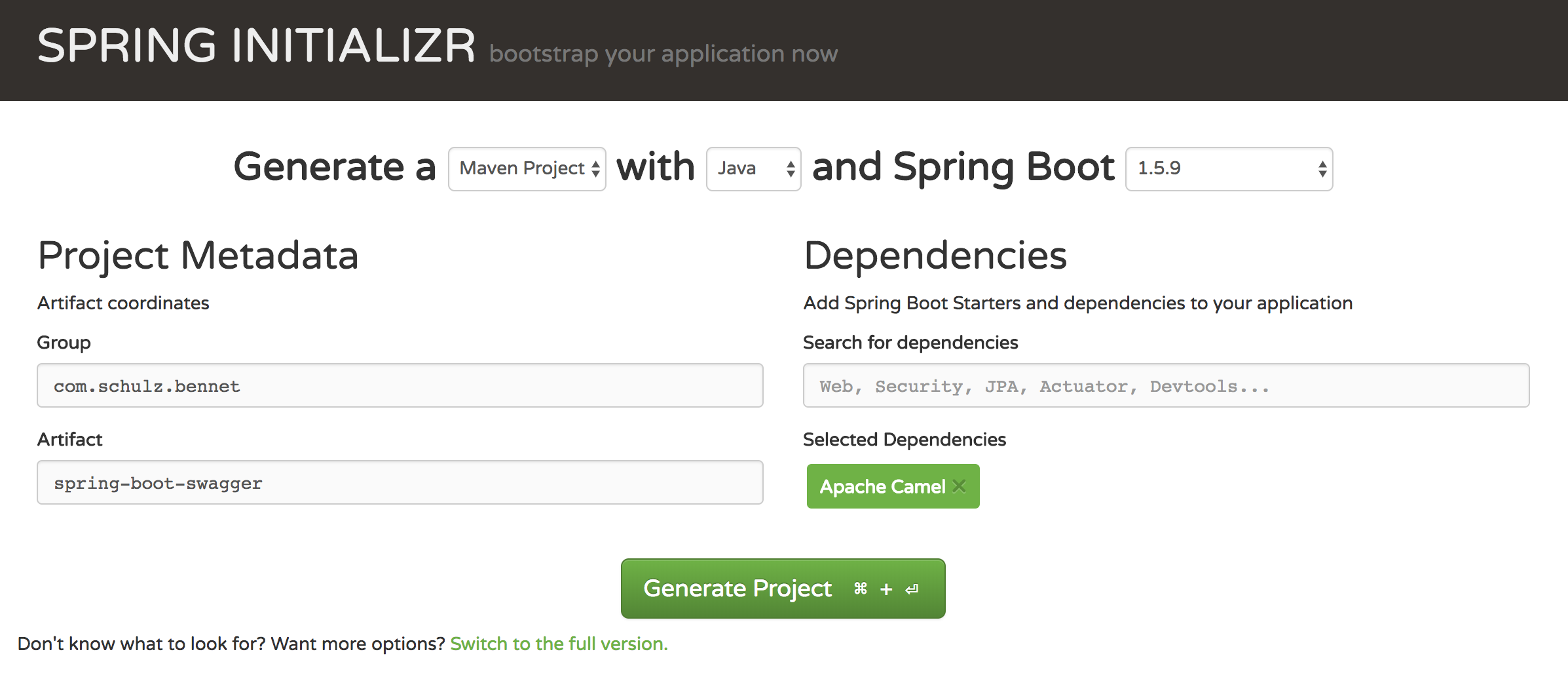 Spring Boot, Apache Camel and Swagger UI - Enterprise Java Blog